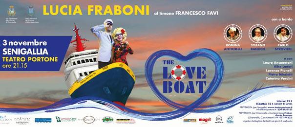 The love boat al Teatro Portone di Senigallia