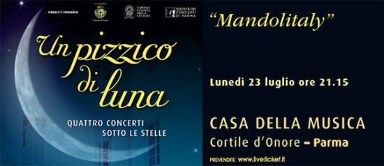 Mandolitaly alla Casa della Musica a Parma