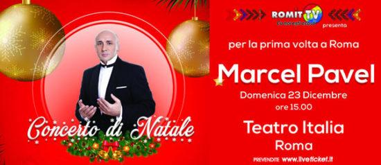 Marcel Pavel - Concerto di Natale al Teatro Italia a Roma
