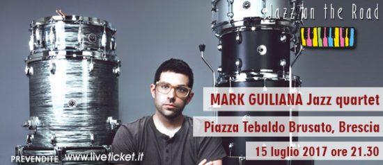 "Festival JOTR 2017 ""Mark Guliana Jazz quartet"" a Brescia"