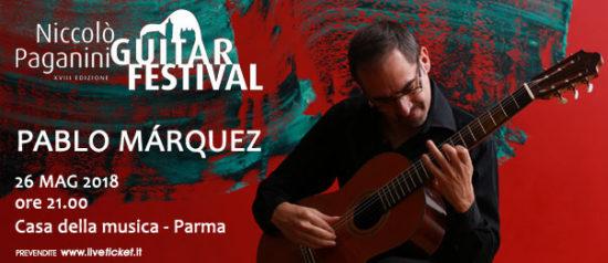 Pablo Marquez alla Casa della Musica a Parma