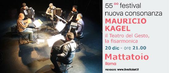 Mauricio Kagel - Il teatro del gesto, la fisarmonica al Mattattoio a Roma
