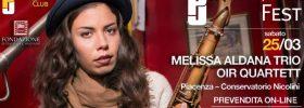 "Melissa Aldana quartett ""Back Home"" & Oir Quartett al Piacenza Jazz Fest 2017"