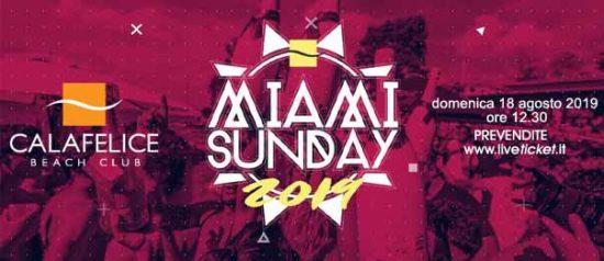 Miami Sunday