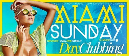 Miami Sunday al Cala Felice Beach Club a Puntone
