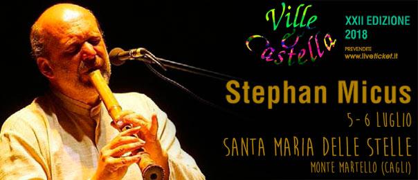 """Stephan Micus Live """"Ville e Castella"""" al Santuario Santa Maria delle Stelle a Cagli"""