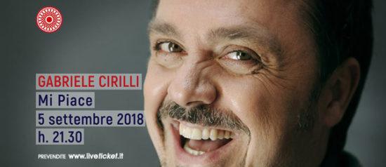 "Gabriele Gabriele Cirilli ""Mi piace"" al Teatro Comunale di Cagli""Mi piace"" al Teatro di Cagli"