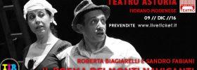 """Roberta Biagiarelli e Sandro Fabiani """"Il Poema dei Monti Naviganti"""" al Teatro Astoria di Fiorano Modenese"""