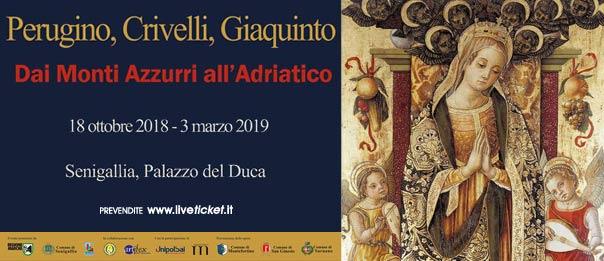 Dai Monti Azzurri all'Adriatico al Palazzo del Duca a Senigallia