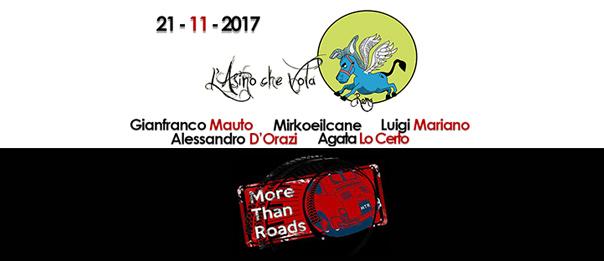 More Than Roads a L'Asino che Vola a Roma