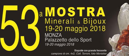 Mostra minerali & bijoux al Palazzetto dello Sport a Monza