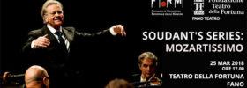 """Orchestra Filarmonica Marchigiana """"Soudant's series: Mozartissimo"""" al Teatro della Fortuna a Fano"""