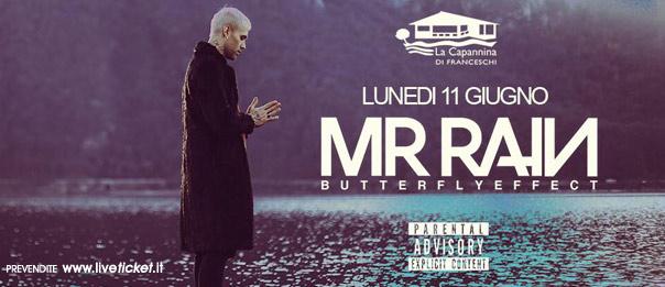 MR Rain live a La Capannina di Franceschi di Forte dei Marmi