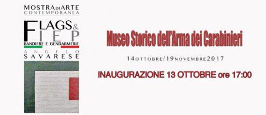 Flags&Fiep al Museo Storico dell'Arma dei Carabinieri a Roma