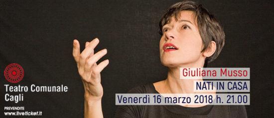 """Giuliana Musso """"Nati in casa"""" al Teatro Comunale di Cagli"""