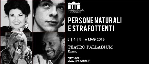 Persone naturali e strafottenti al Teatro Palladium a Roma