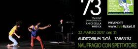 Naufragio con spettatore al Teatro TaTà di Taranto