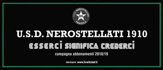 USD Nerostellati – Campionato serie D Stagione 2018/19