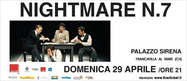 Nightmare n.7 al Palazzo Sirena a Francavilla al Mare