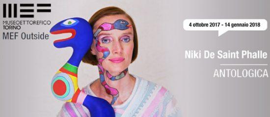 """Niki de Saint Phalle """"Antologica"""" al MEF Outside a Torino"""