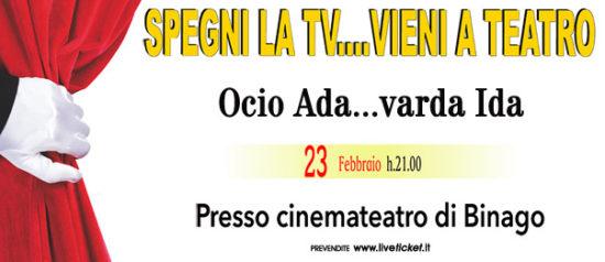Ocio Ada...varda Ida al Teatro Moderno a Binago