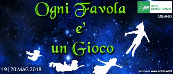 Ogni favola è un gioco al Teatro Silvestrianum di Milano