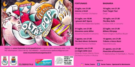 """OLTREPOP FESTIVAL """"sentieri e impronte"""" a Bagnaria e Fortunago"""