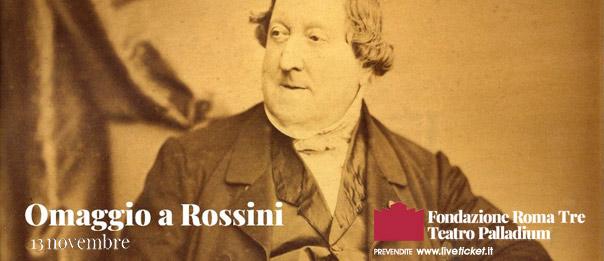 Omaggio a Rossini! al Teatro Palladium a Roma