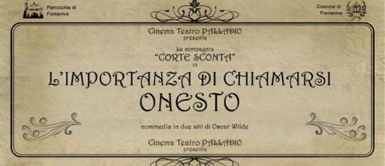 L'importanza di chiamarsi Onesto al Teatro Palladio