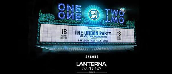 Radio Deejay presents OneTwoOneTwo al Lanterna Azzurra di Corinaldo