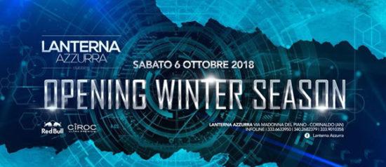 Opening winter season alla Lanterna Azzurra di Corinaldo
