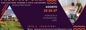 PAD & PERC CAMP con Gaetano Fasano a Bibbiena