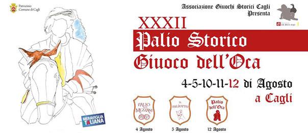 """Palio Storico """"Giuoco dell'Oca"""" in Centro Storico a Cagli"""