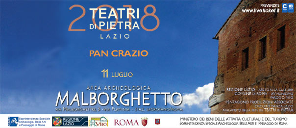 Pan Crazio all'Area Archeologica Malborghetto a Roma