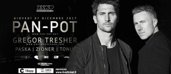 With Love presents: Pan-Pot + Gregor Tresher al ECS Dogana Club a Catania