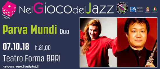 """Parva Mundi Duo"" Ivana Maria Vidovic - Koji Miura al Teatro Forma di Bari"
