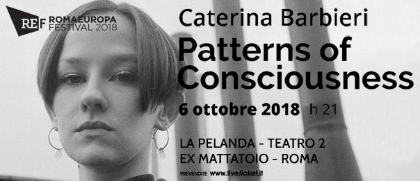 "Romaeuropa Festival 2018 - Caterina Barbieri ""Pattern of Consciousness"" a La Pelanda a Roma"