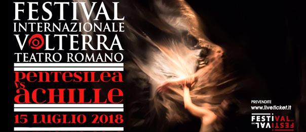 Pentesilea VS Achille al Teatro Romano a Volterra