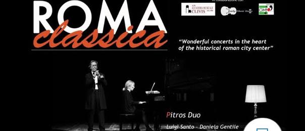 """""""Roma Classica"""" Pitros Duo alla Sala dei Fiorentini a Roma"""