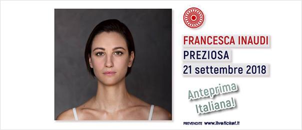 """Francesca Inaudi """"Preziosa"""" al Teatro Comunale di Cagli"""