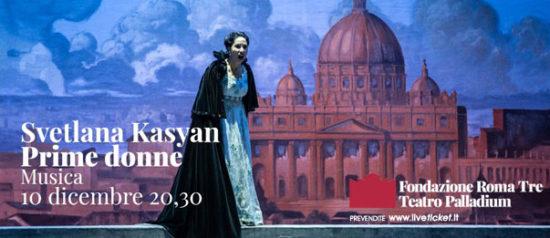 """Prime Donne"" Svetlana Kasyan al Teatro Palladium a Roma"