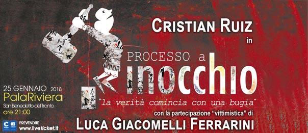 Processo a Pinocchio al Palariviera di San Benedetto del Tronto