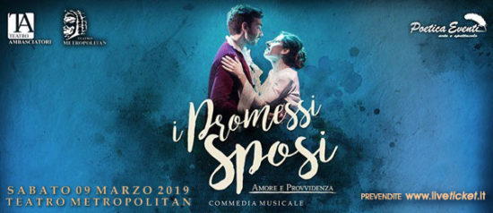 I Promessi Sposi - Amore e Provvidenza al Teatro Metropolitan a Catania