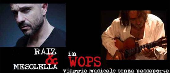 Raiz & Mesolella al Teatro TaTà di Taranto