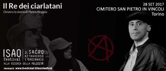 """Isao Festival """"Il Re dei ciarlatani"""" al Cimitero San Pietro in Vincoli a Torino"""