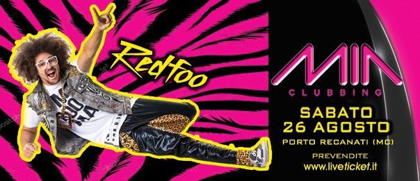 Special guest Redfoo al Mia Clubbing di Porto Recanati