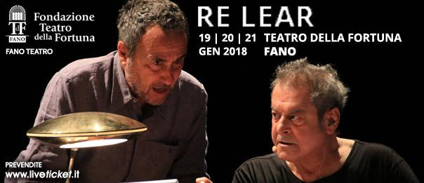 Re Lear al Teatro della Fortuna a Fano