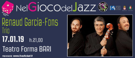 Renaud Garcia-Fons Trio al Teatro Forma di Bari