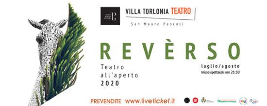 REVÈRSO. Torna il teatro a Villa Torlonia