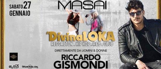 Riccardo Gismondi with DivinaLoka al Masai Club Cagli